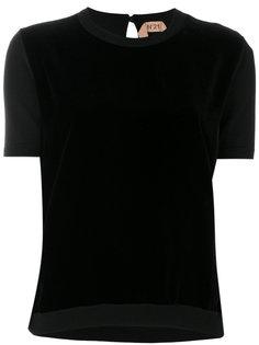 футболка с круглым вырезом Nº21