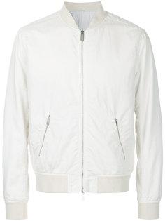 куртка-бомбер  на молнии Hardy Amies