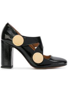 туфли-лодочки с резным ремешком LAutre Chose