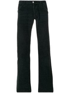 слегка расклешенные вельветовые брюки  Dolce & Gabbana Vintage