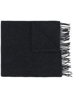 шарф с бахромой A.P.C.