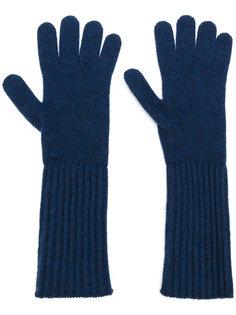 перчатки средней длины Pringle Of Scotland