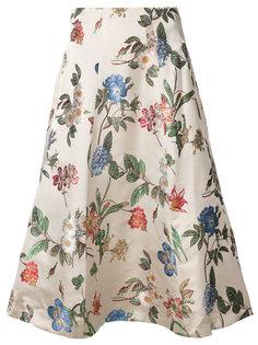 юбка с цветочным принтом Alice+Olivia