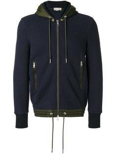 contrast trim hoodie Moncler