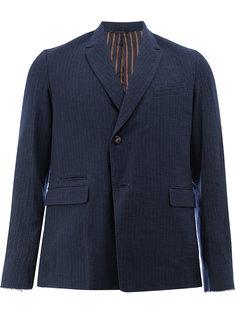 пиджак в тонкую полоску Maison Mihara Yasuhiro