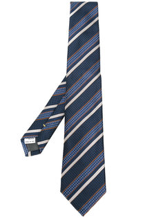 галстук в диагональную полоску Canali