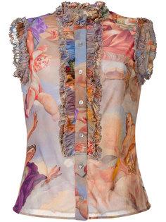блузка Fantasia Moschino