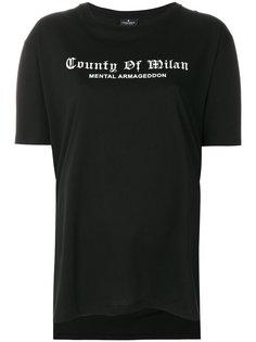 футболка Shalg Poncho Marcelo Burlon County Of Milan