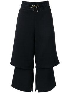 укороченные брюки с эластичным поясом Aalto