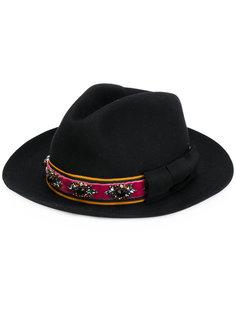 шляпа с декорированной отделкой Etro