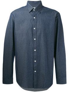 джинсовая твиловая рубашка Hardy Amies