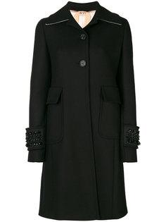 пальто с вышивкой Nº21
