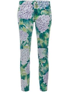 джинсы скинни с принтом  Dolce & Gabbana