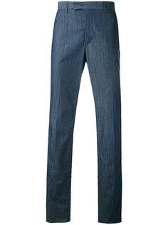брюки с текстурой Hardy Amies