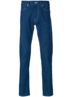 джинсы с контрастной строчкой Paura