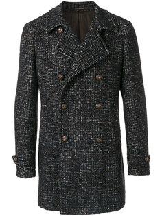 двубортное пальто Charlie  Tagliatore