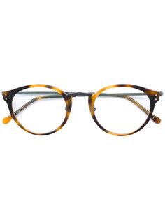 round glasses Masunaga