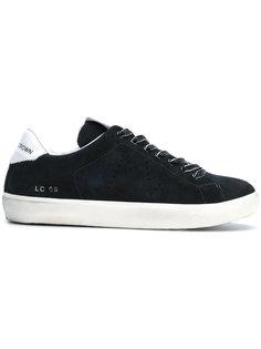 классические кроссовки на шнуровке Leather Crown