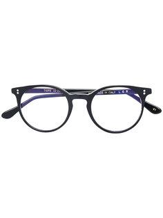 round shaped glasses L.G.R
