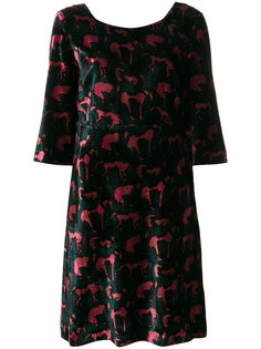 платье шифт с узором  LAutre Chose