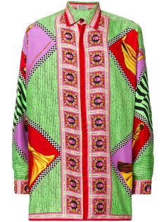 рубашка с длинными рукавами и узором Missoni Vintage