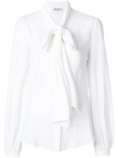 блузка с завязкой  Dondup