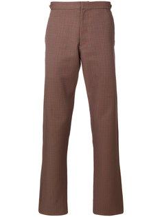 прямые брюки в ломаную клетку Comme Des Garçons Vintage