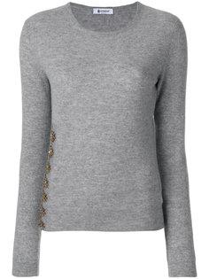 свитер с отделкой  Dondup