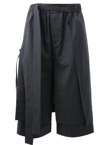 объемные укороченные брюки Craig Green