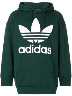 худи с принтом с логотипом Adidas Originals