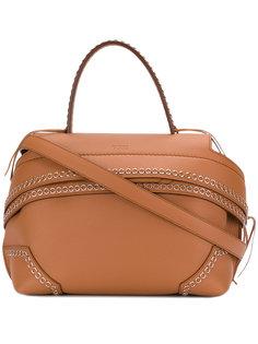 декорированная сумка-тоут Tods Tod`S