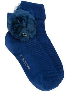 носки с цветочной отделкой  Twin-Set