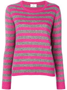 блестящий свитер в полоску  Allude