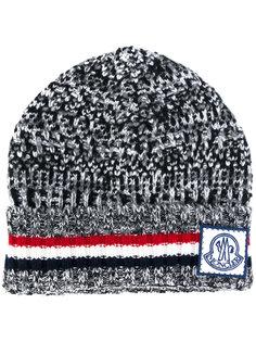шапка-бини с логотипом Moncler Gamme Bleu