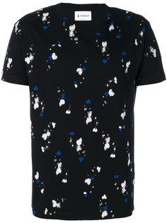 футболка с абстрактным принтом Dondup