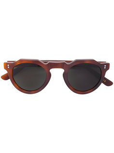 round framed sunglasses Lesca