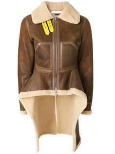 куртка с контрастной отделкой из овчины  Givenchy