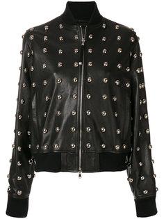 куртка с заклепками Lilles Diesel Black Gold