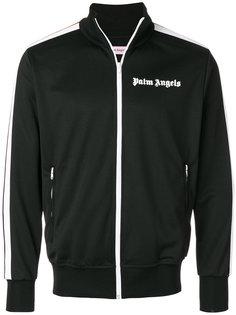 классическая куртка на молнии с логотипом Palm Angels
