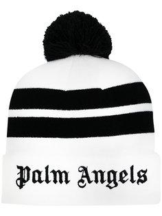 полосатая шапка Palm Angels