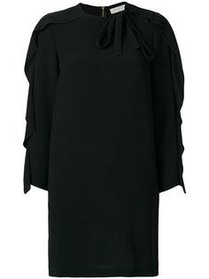 платье шифт с оборкой  LAutre Chose