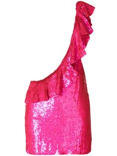 неоновое платье на одно плечо Sidney Filles A Papa