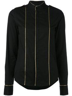 рубашка с золотистой окантовкой A.F.Vandevorst