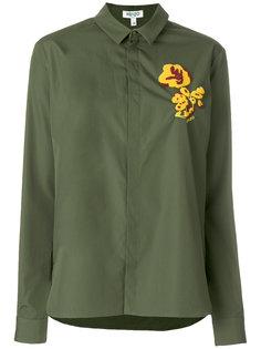 """рубашка с цветами стиля """"кэжуал"""" Kenzo"""