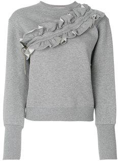 свитер с оборками Volant MSGM