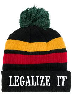 вязаная шапка Legalize It Palm Angels