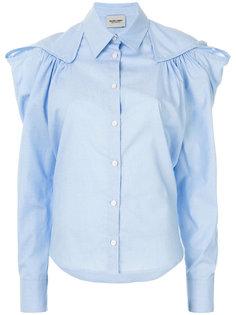 приталенная рубашка с оборкой  Rachel Comey