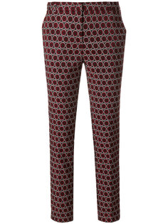 slim-fit woven circle trousers Kiltie