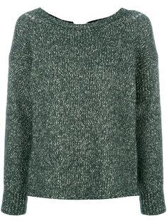 свитер с круглым вырезом  Humanoid