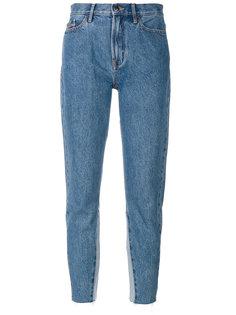 укороченные джинсы с завышенной талией Ck Jeans